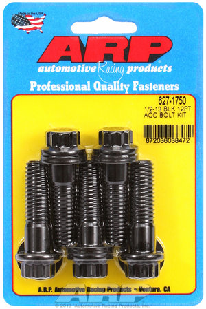 ARP 1/2-13 x 1.750 12pt black oxide bolts 6271750