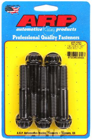 ARP 1/2-13 x 2.750 12pt black oxide bolts 6272750