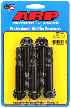 ARP 1/2-13 x 3.000 12pt black oxide bolts 6273000