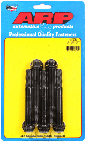 ARP 1/2-13 x 3.750 12pt black oxide bolts 6273750