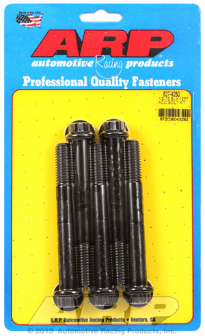 ARP 1/2-13 x 4.250 12pt black oxide bolts 6274250