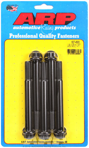 ARP 1/2-13 x 4.500 12pt black oxide bolts 6274500