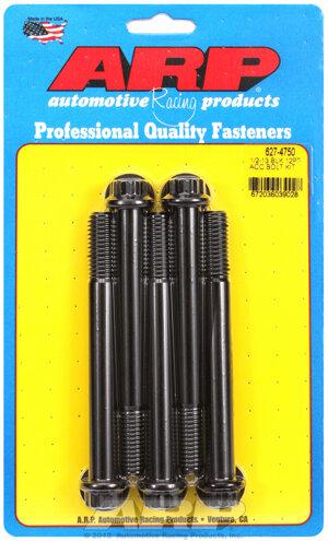 ARP 1/2-13 x 4.750 12pt black oxide bolts 6274750