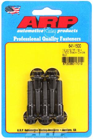 ARP 5/16-18 x 1.500 12pt black oxide bolts 6411500