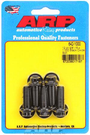 ARP 3/8-16 x 1.000 12pt black oxide bolts 6421000