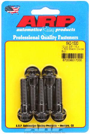 ARP 3/8-16 x 1.500 12pt black oxide bolts 6421500