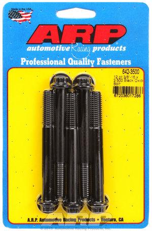 ARP 3/8-16 x 3.500 12pt black oxide bolts 6423500
