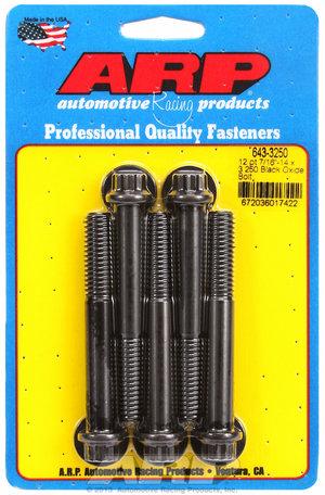 ARP 7/16-14 x 3.250 12pt black oxide bolts 6433250