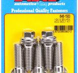 ARP 1/2-13 X 1.500 hex SS bolts 6461500
