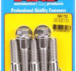 ARP 1/2-13 X 1.750 hex SS bolts 6461750