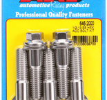 ARP 1/2-13 X 2.000 hex SS bolts 6462000