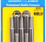 ARP 1/2-13 x 3.000 hex SS bolts 6463000