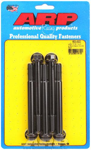ARP 7/16-14 X 4.500 hex black oxide bolts 6534500