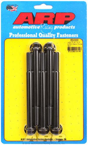 ARP 7/16-14 X 5.000 hex black oxide bolts 6535000