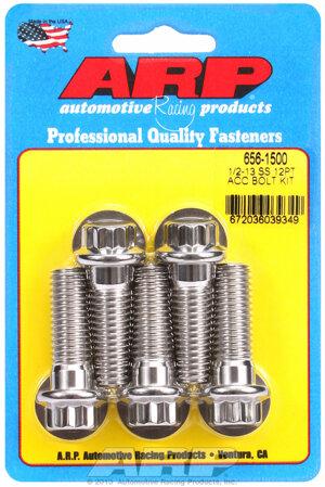 ARP 1/2-13 x 1.500 12pt SS bolts 6561500