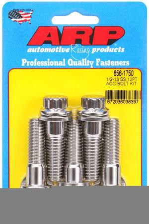 ARP 1/2-13 x 1.750 12pt SS bolts 6561750