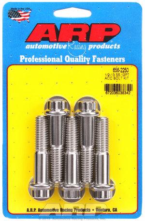 ARP 1/2-13 x 2.250 12pt SS bolts 6562250