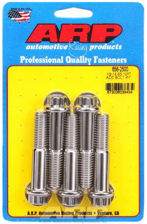 ARP 1/2-13 x 2.500 12pt SS bolts 6562500