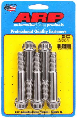 ARP 1/2-13 x 3.000 12pt SS bolts 6563000