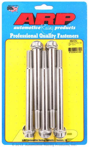 ARP 1/2-13 x 5.250 12pt SS bolts 6565250