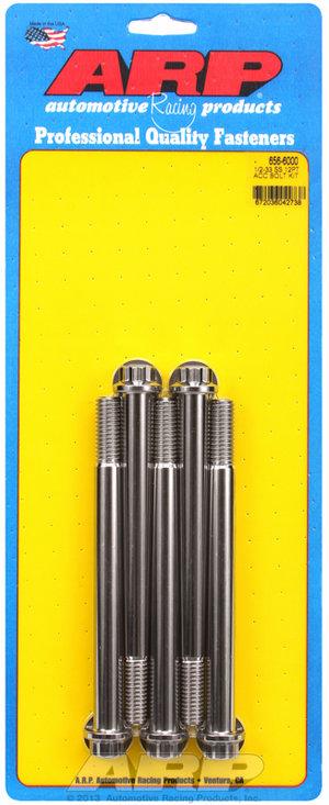 ARP 1/2-13 x 6.000 12pt SS bolts 6566000