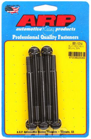 ARP M8 x 1.25 x 90  hex black oxide bolts 6611014