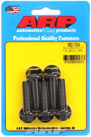 ARP M10 x 1.50 x 35 hex black oxide bolts 6621004