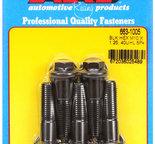 ARP M10 x 1.25 x 40 hex black oxide bolts 6631005