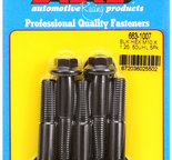 ARP M10 x 1.25 x 50 hex black oxide bolts 6631007
