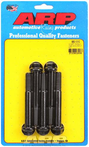 ARP M12 x 1.75 x 90 hex black oxide bolts 6651010