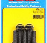 ARP M10 x 1.25 x 30 12pt black oxide bolts 6731003
