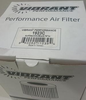 """Vibrant Universal Sportluftfilter 2,75"""""""