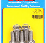 ARP M10 x 1.25 x 25 hex SS bolts 7631002