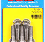 ARP M10 x 1.25 x 35 hex SS bolts 7631004