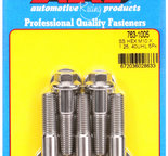 ARP M10 x 1.25 x 40 hex SS bolts 7631005